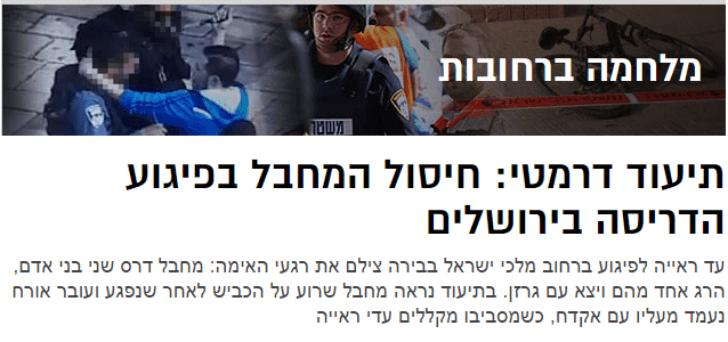 צילום מסך: אתר walla