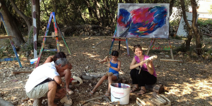 להשאיר מאחור את תרבות הצריכה: חופשת קיץ בוולדורף קאמפ בקרואטיה [איגרת 205]