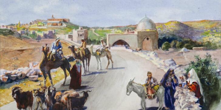 ירושלים, שנות העשרים: סיפורם של הזוג האנתרופוסופי הראשון בישראל [איגרת 257]