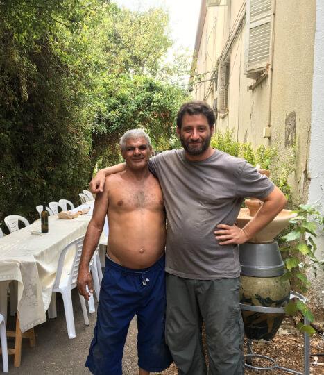 דוד ויונתן. דוד בן שמעון ויונתן לוי; המפגש ביניהם הוליד את שיתוף הפעולה שהביא להגשמת פרויקט העלייה.