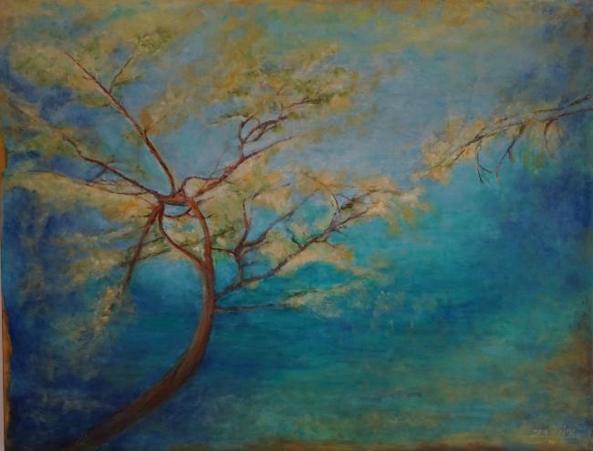 מתוך התערוכה. ציור: אילת השחר סלע