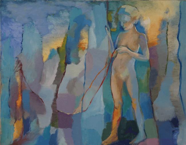מתוך התערוכה. ציור: מיכל קרגר קלמנוביץ'