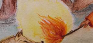 לשונות האור – لسان النار