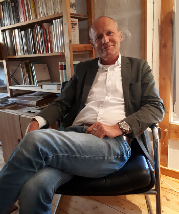 יאנס היינסטרנקאמפ, עורך info3 בחדרו