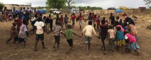 פעילות אחרי האסון במוזמביק. צילום: לוקס מל