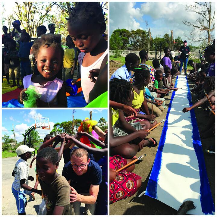 פעילות אחרי האסון במוזמביק. תמונות ממרחב הילדים. הצילומים בכתבה באדיבות לוקס מל